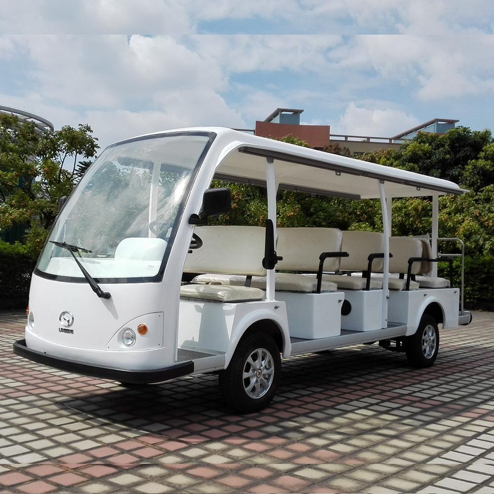 湖南电动观光车14座 LQY140A型