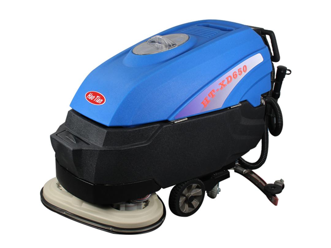 皓天手推式双刷洗地机XD650
