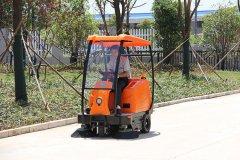 地霸电动扫地车适合使用在什么地面?