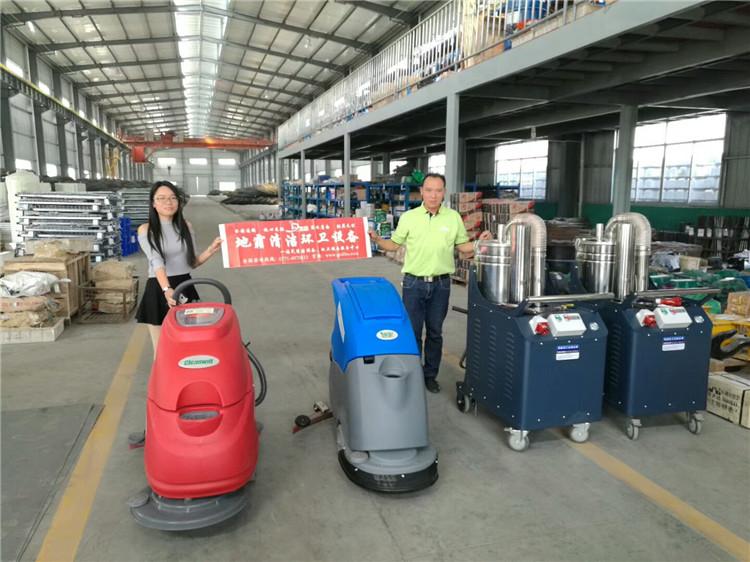 广西手推式洗地机,广西工业吸尘器服务广西铁路轨道制造有限公司